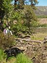 Southern corner of pathway/enclosure  by Sylvina Tilbury  © Highland Council