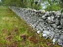 Site 14. SW section of walling . From NW .  by Catherine Dagg  © Catherine Dagg