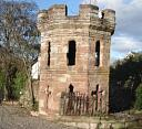 Dovecote (castle remnant, transposed), Castle St., Dingwall  by Andrew Taylor  © Andrew Taylor