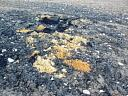 Remains of a dump of plane parts  by Alasdair Cameron  © Alasdair Cameron