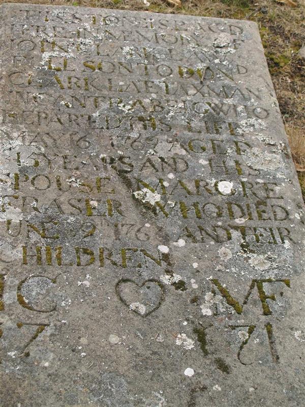 MHG31375 - Burial ground - St  Barevan's Church, Kirkton of